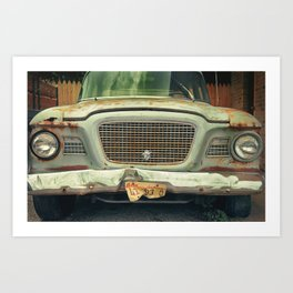 what a lark Art Print
