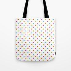Fun Dots multi-coloured Tote Bag