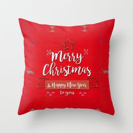 -A26- Anthropologie Traditional Moroccan Christmas Artwork. Throw Pillow