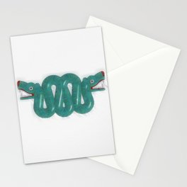 Aztec Serpent Stationery Cards