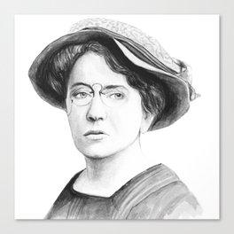 Emma Goldman Canvas Print