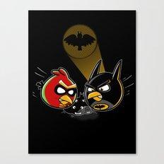 Batbird & Robin Canvas Print