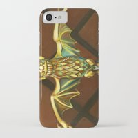 haunted mansion iPhone & iPod Cases featuring Haunted Mansion Bat Stanchion by ArtisticAtrocities