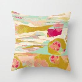 Seedpods Throw Pillow