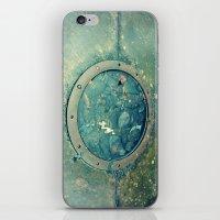 portal iPhone & iPod Skins featuring Portal by Labartwurx