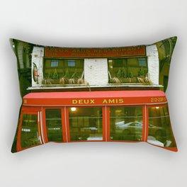 Deux Amis Rectangular Pillow