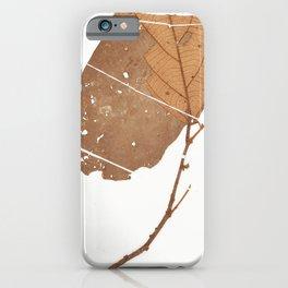 Leaf Theobroma subincanum iPhone Case