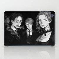 noir iPad Cases featuring Noir by Rairatoakane