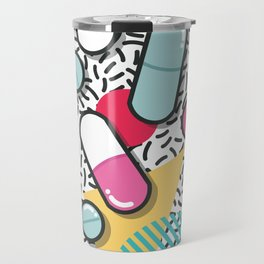 Pills pattern 018 Travel Mug