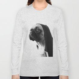 Pink Pug Long Sleeve T-shirt
