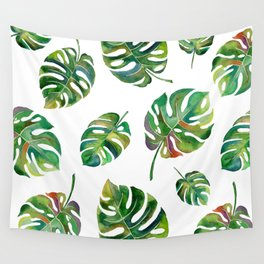 Monstera Deliciosa Wall Tapestry
