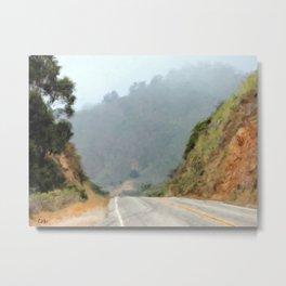 Big Sur Highway Metal Print