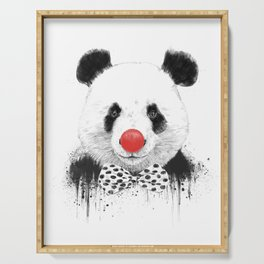 Clown panda Serving Tray