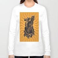 hindu Long Sleeve T-shirts featuring Hindu God Ganesha by Smyrna
