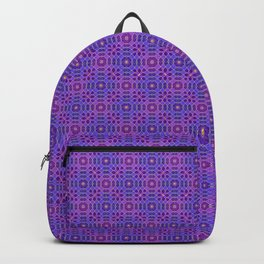 PURPLE PANACHE PATTERN Backpack
