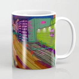 Tokyo Night Train Coffee Mug