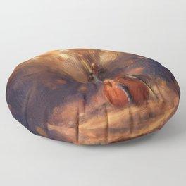 Falling Violin Floor Pillow