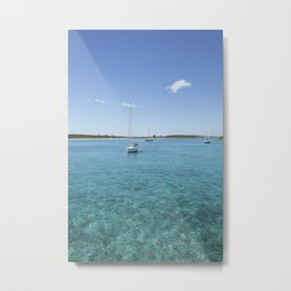 Its Better In The Bahamas Metal Print