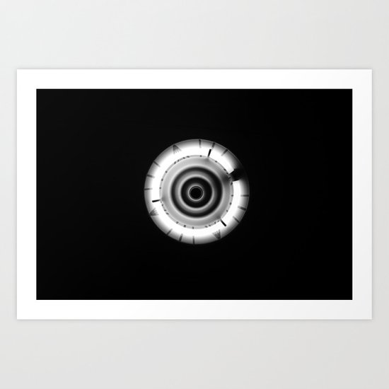 """O"" marks the spot Art Print"