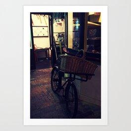 Bakers Bike Art Print