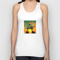 dylan Tank Tops featuring dylan by Mariana Beldi