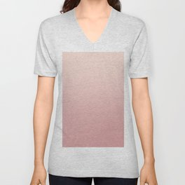 FREAK HEAT - Minimal Plain Soft Mood Color Blend Prints Unisex V-Neck