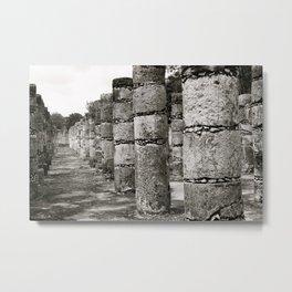 Mayan Ancients 3 Metal Print