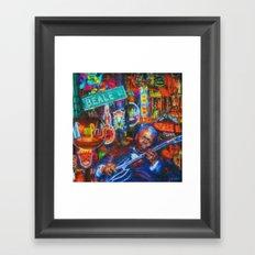 Beale Street Blues Framed Art Print