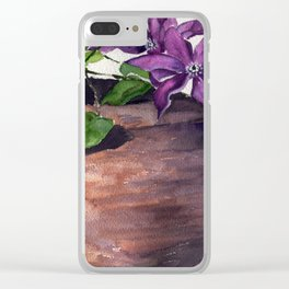 The Cellist Clear iPhone Case