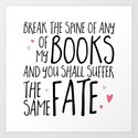 Don't Break My Spine! by bookwormboutique