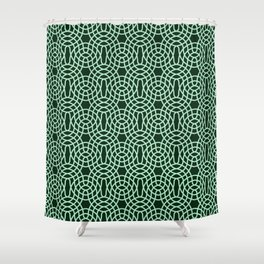 Op Art 187 Shower Curtain