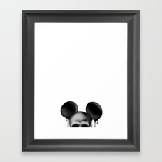 MIK€Y Framed Art Print