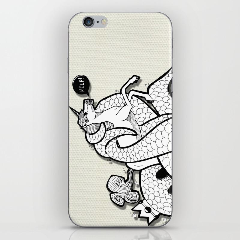 Unicorn I hate Monday iPhone 7 Case