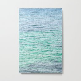 Sea surface Metal Print