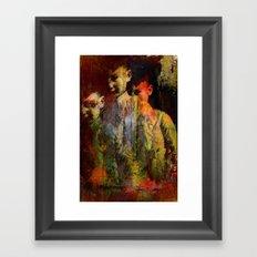 The ghost of the son Olsen Framed Art Print