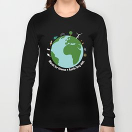 March for Science Earth Long Sleeve T-shirt