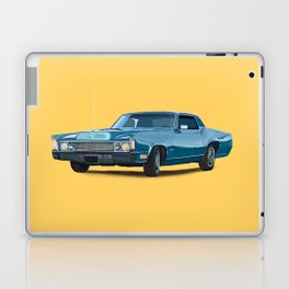 Vintage car solid colour Laptop & iPad Skin