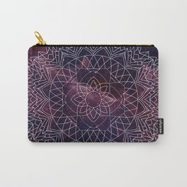 Geometric Space Mandala Carry-All Pouch