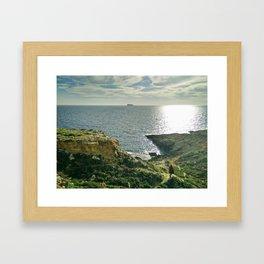 Filfla, Malta Framed Art Print