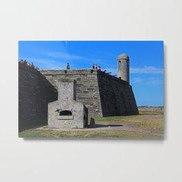 Castillo de San Marcos IV Metal Print
