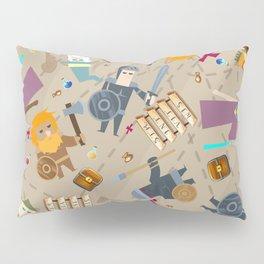 Treasure Chests & Potions Pillow Sham