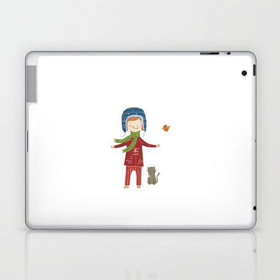 A  BIRD  IN LOVE  Laptop & iPad Skin