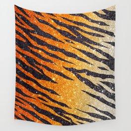 Tiger Shout Glitter Stripe Wall Tapestry
