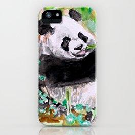 Panda lovin' iPhone Case