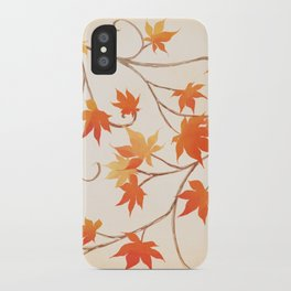 Autumn Leaves are like Flowers iPhone Case
