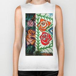 A Rose Is A Rose Is... Biker Tank