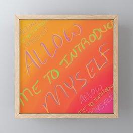 Introduction Framed Mini Art Print