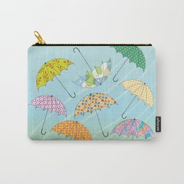 Dance of Umbrellas Carry-All Pouch