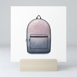 Heard You Like Backpacks Mini Art Print