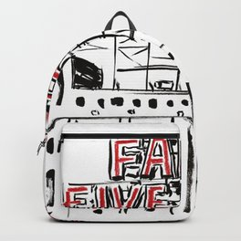 Five Roses Backpack